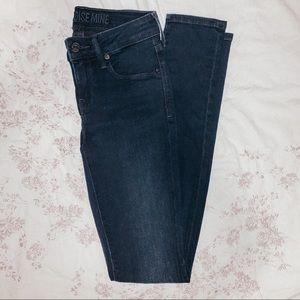 Aritzia Jeans - Paradise Mine Dark Blue Jeans - Aritzia